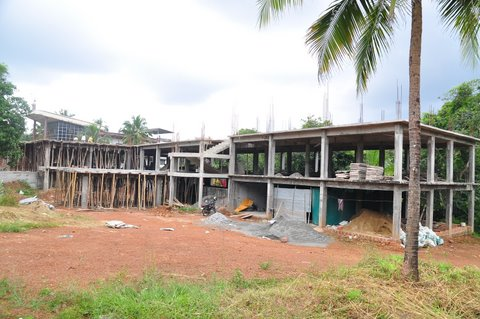 Construction of The Old Age  Home